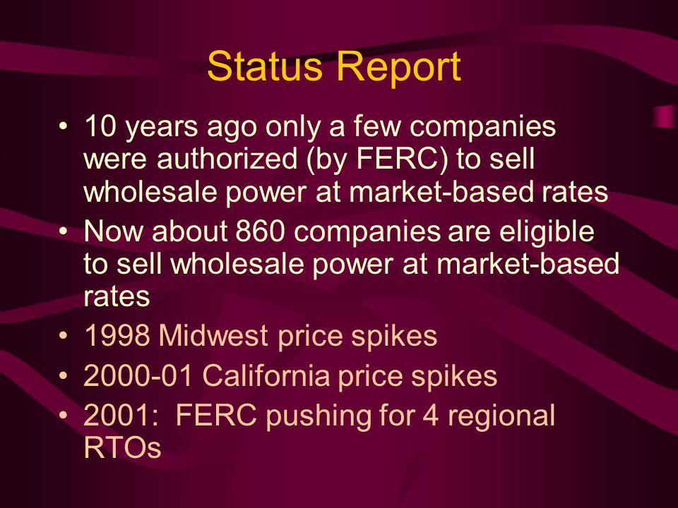 RTO/ISO Map: January 2003