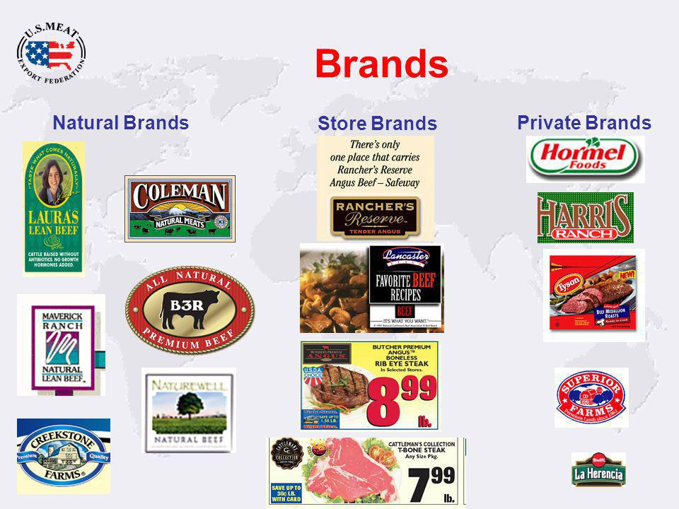 Marketing Value Attributes Each of these product lines have traceable attributes.