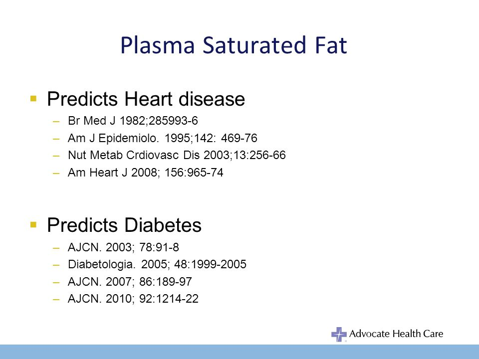Dietary Saturated Fat and Heart Disease 3 Recent Meta-Analyses StudyPooled Cohort Studies Baseline Cohort (n) Follow- Up (yr) Interpretation Skeaff & Miller.