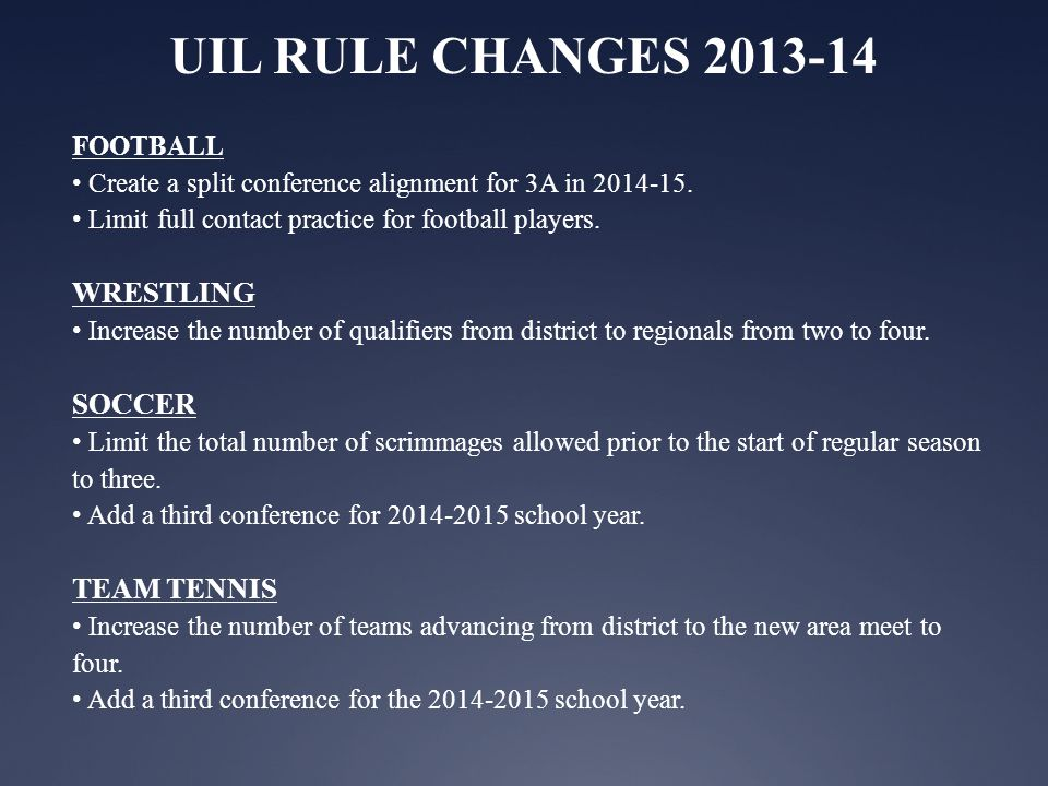 Dates for 2013-14 Volleyball Season August 5 First day to issue equipment and conduct workouts outside the school day, all conferences August 9 First day for scrimmages, all conferences.