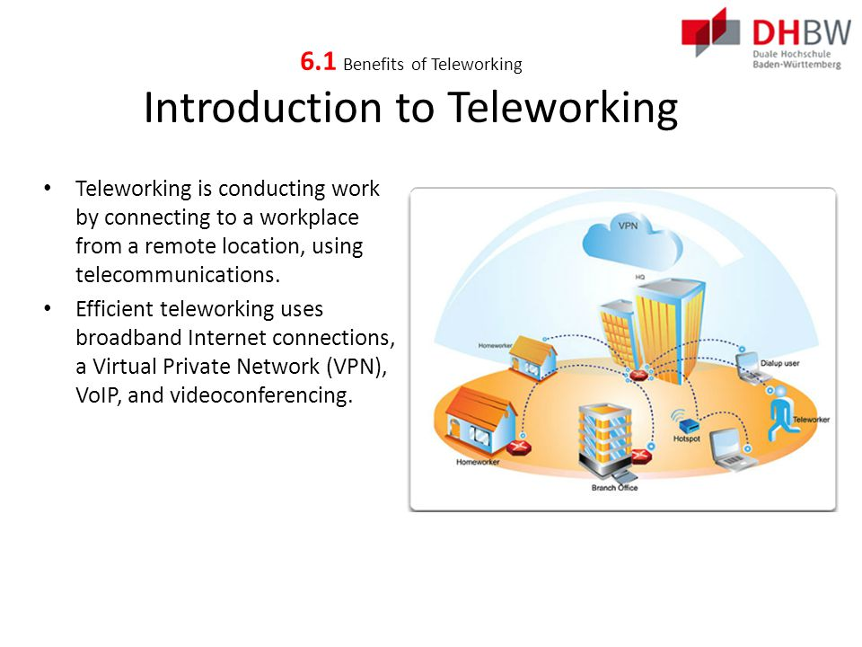 Benefits of Teleworking Employer Benefits of Teleworking Improved employee productivity – Teleworking staff is between 8 and 40% more productive than office working staff.