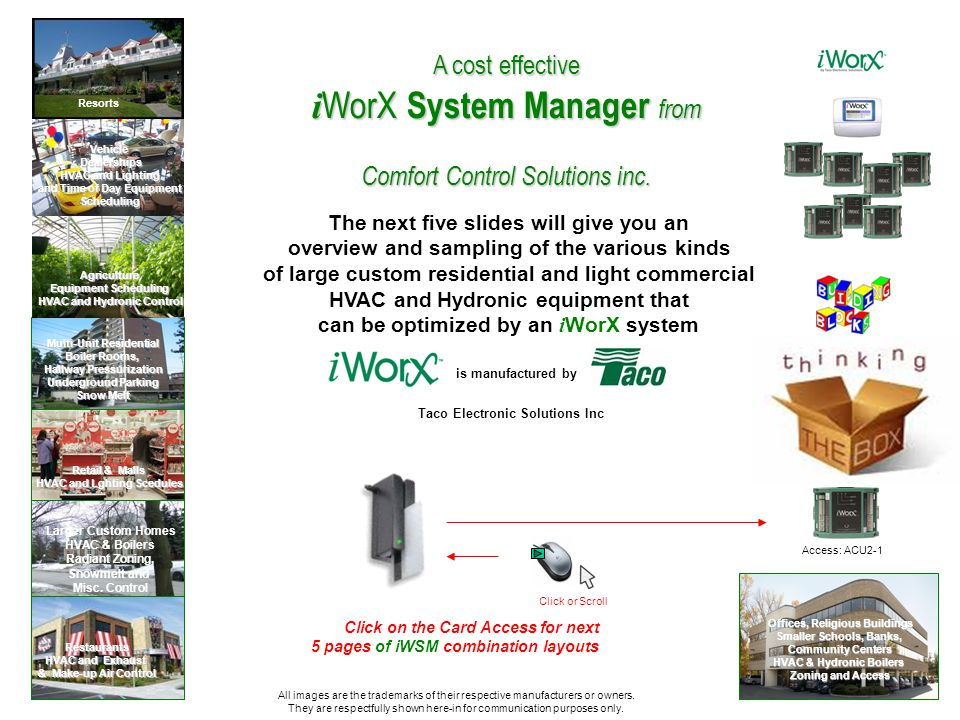 If youre a Design/Build firm, Engineer, Architect, Specifier, HVAC wholesaler Design Staff, Contractor, or Equipment Agent, who Thinks Outside the Box, and you have a talent for integrating 3 rd party control systems with your own exclusive packaged equipment,..
