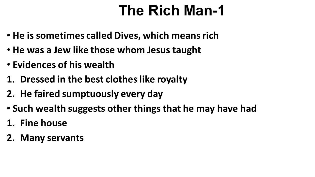 The Rich Man-2 3.