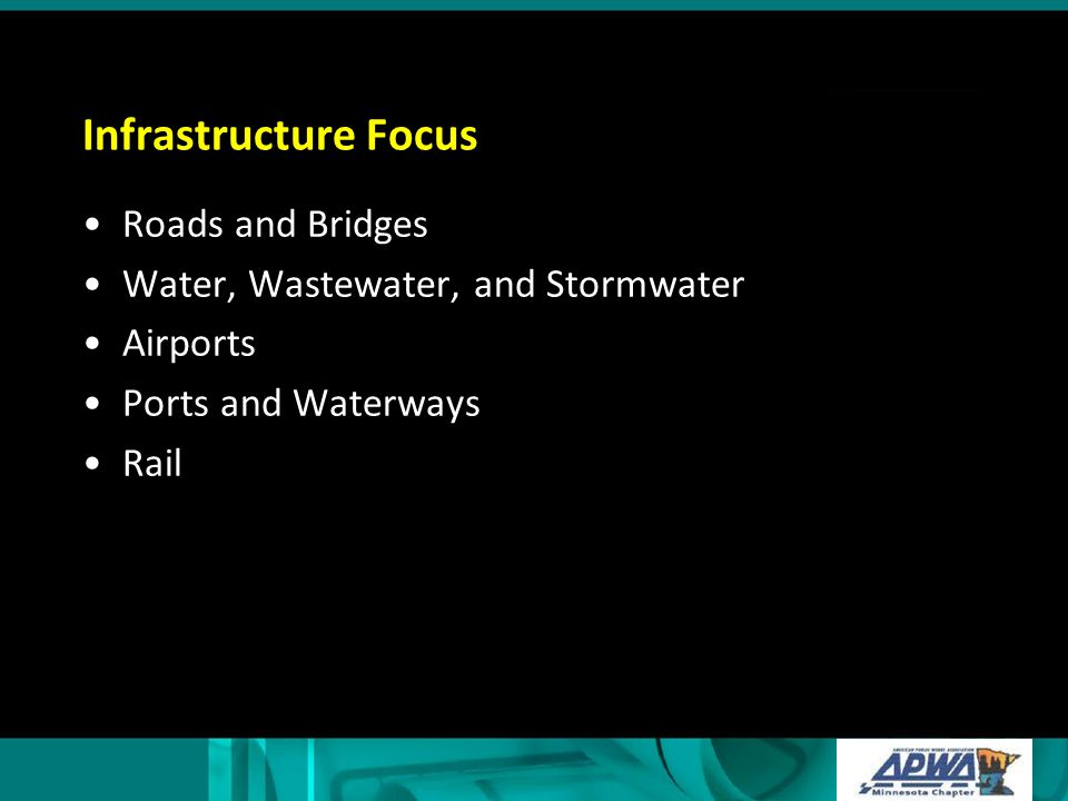 Infrastructure Future Solid Waste Public buildings and grounds Energy Parks and forestry Etc.