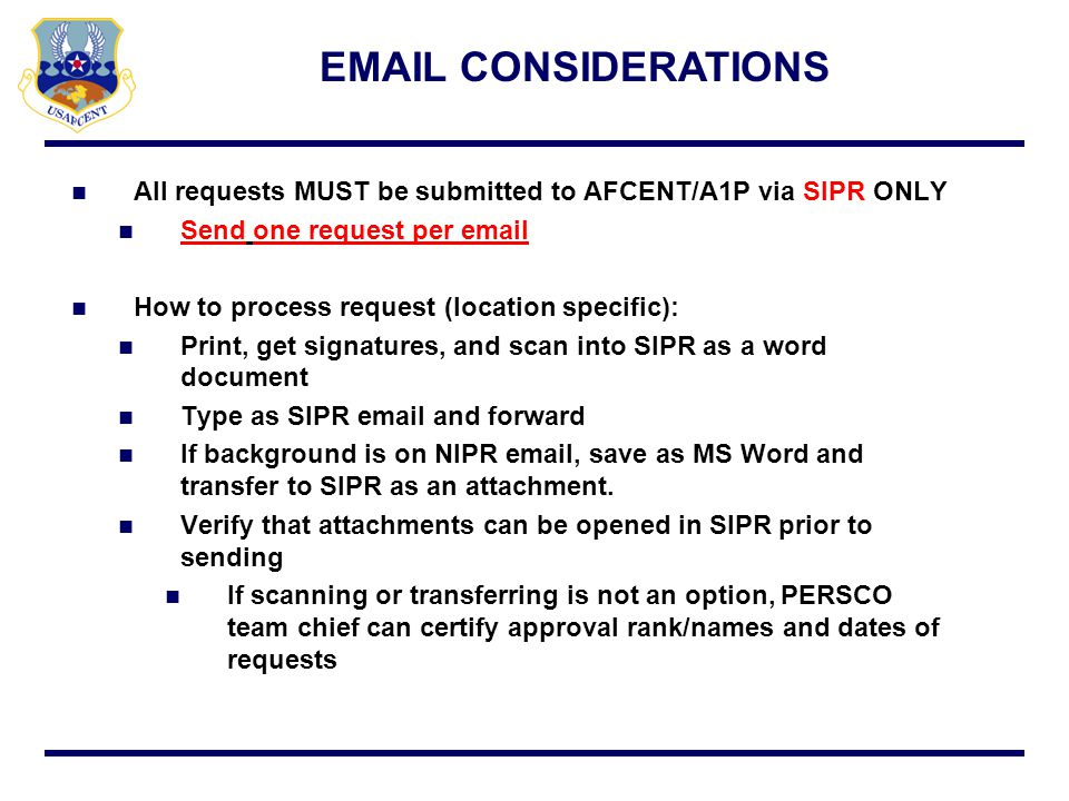 Extensions Delayed and Early Reporting Requests Early Release w/ or w/o Replacement Administrative Hold Waivers Email considerations SUMMARY
