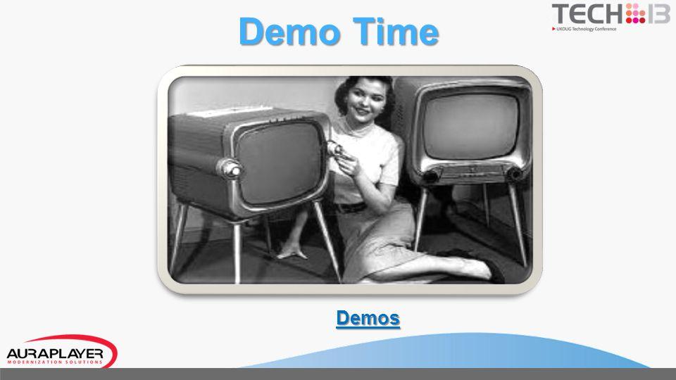 Oracle 11g DB Desktop Mobile Devices DMZ External Network Oracle Forms 11g Server Secure Weblogic Server Runs Webservice FW Service Manager AuraPlayer – Solution Architecture Native ADF Mobile app