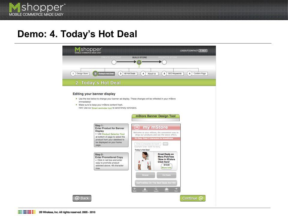 Demo: 5. All Hot Deals