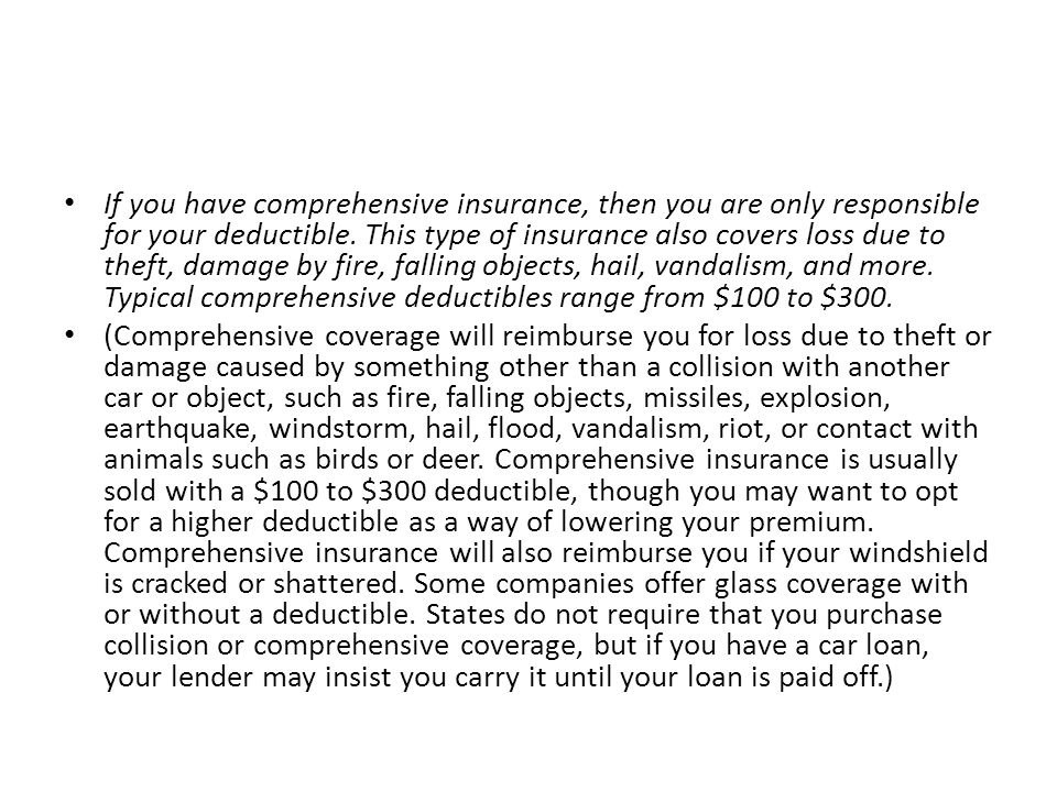 What kind of coverage would pay my vehicle repair costs if my car is damaged in a hit-and- run accident.