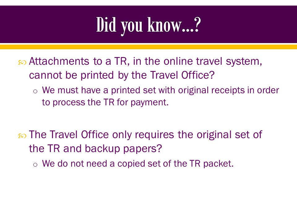 The Travel Office does not need boarding passes anymore.