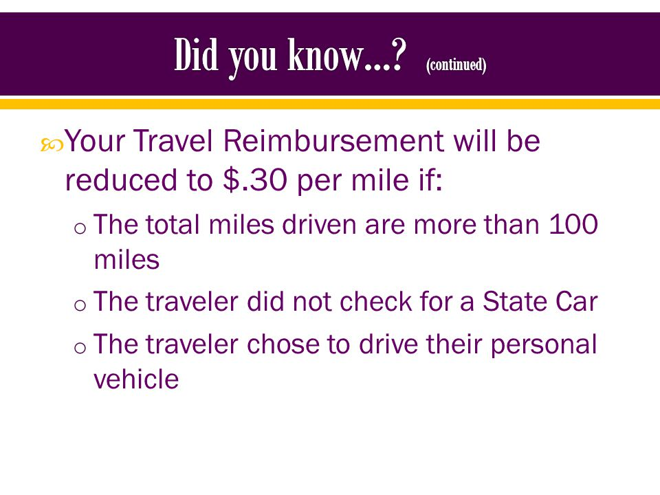 Clinical Duties will allow for a traveler to receive the full mileage reimbursement of $.56 per mile.