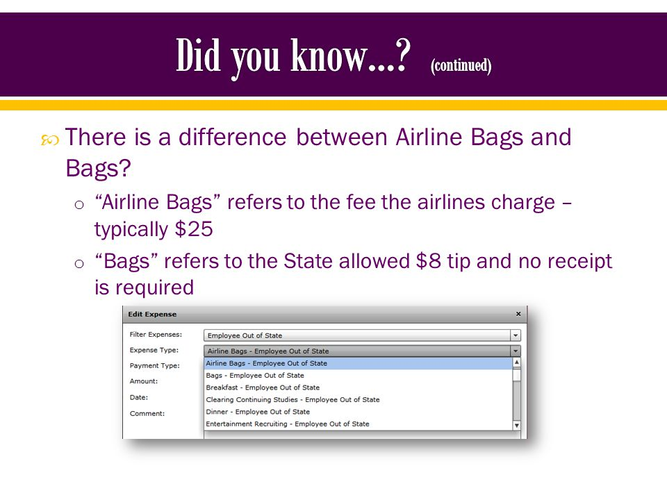Multiple checked bag fees are not always allowed.