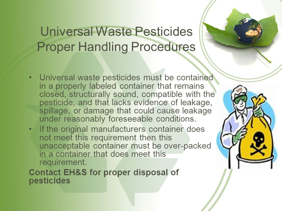 Universal Waste Mercury-Containing Equipment Mercury-Containing Equipment (MCE) is defined a device or part of a device that contains elemental mercury integral to its function.