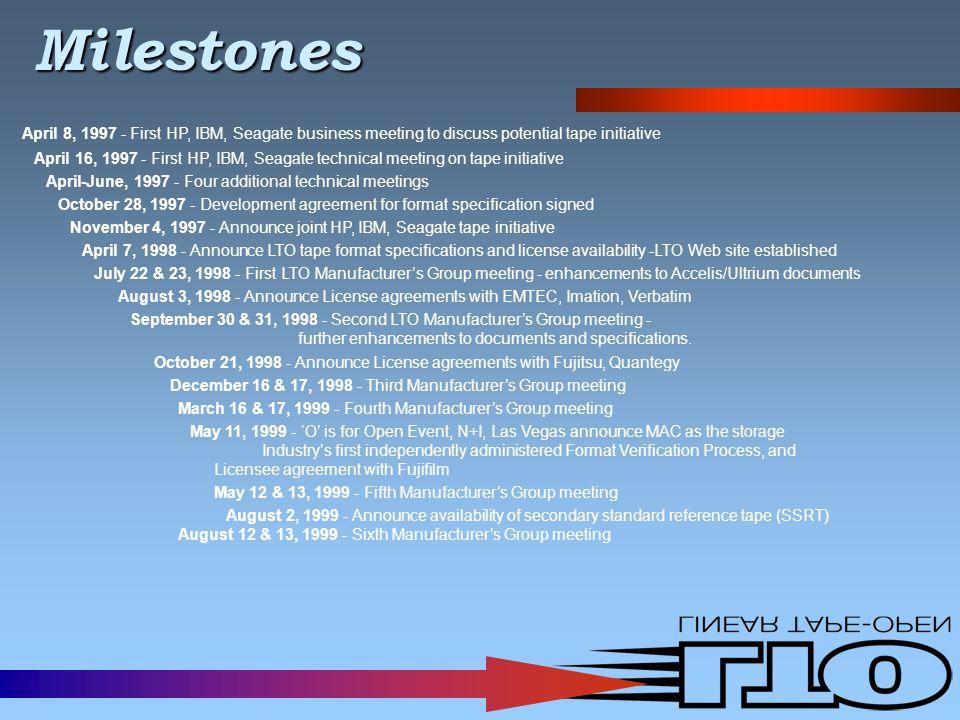 Current LTO Licensees Accutronics, Inc.