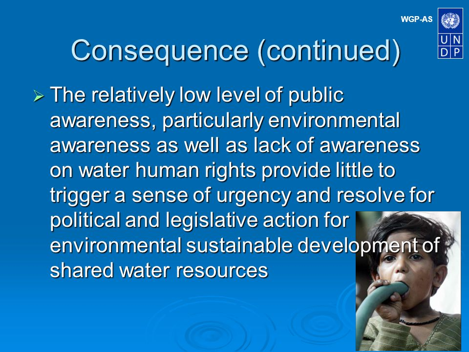 WGP-AS COMMON TRANSBOUNDARY PROBLEMS Major Concern II: Pollution 1.