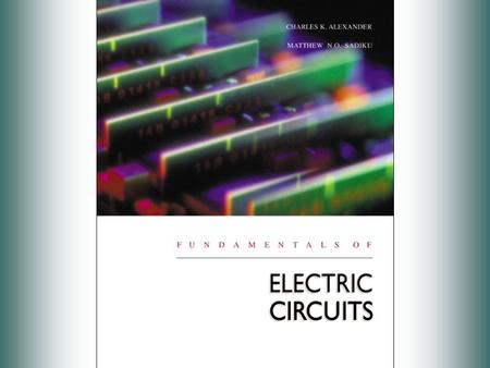 Preface Place of Electrical Circuits in Modern Technology Introduction The design of the circuits has 2 main objectives: 1) To gather, store, process,