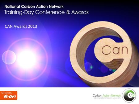 Coventry – Tuesday, 3 September 2013 CAN Awards 2013.