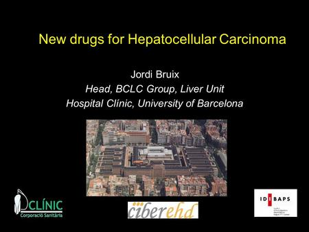 New drugs for Hepatocellular Carcinoma
