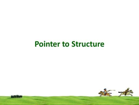 Pointer to Structure. Structure variable can be access using pointers int a=10,*p; Here p  is an integer type pointer variable, p can hold the address.