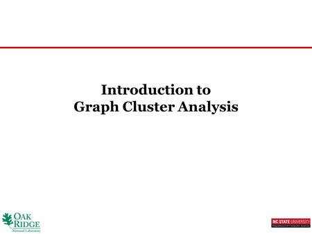 cluster analysis algorithms and analysis using This article explores the basics of cluster analysis, which is a form of unsupervised pattern recognition, and explores big data and how they correlate  several types of clustering algorithms.
