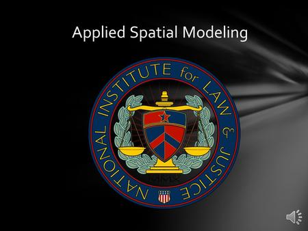 Applied Spatial Modeling Now that you are familiar with the basic conceptual theories and practical skills associated with multivariate-multidirectional.