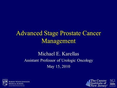 Stage d2 metastatic prostate cancer