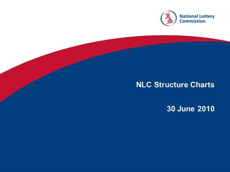 NLC Structure Charts 30 June 2010. MARK HARRIS CHIEF EXECUTIVE £110,000 - £114,999 MARK HARRIS CHIEF EXECUTIVE £110,000 - £114,999 JOY WATKINS DIRECTOR.