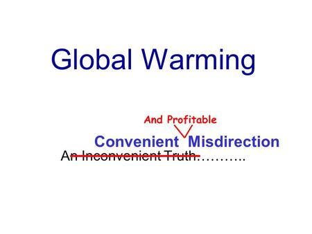 an inconvenient truth or convenient revenue essay Financial analysis of an inconvenient truth (2006) how convenient tv and ancillary revenue are available through our research services.