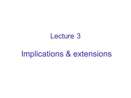 Lecture 3 Implications & extensions. Mass & energy balance The standard DEB model specifies fluxes of 4 organic compounds food, faeces, structure (growth),