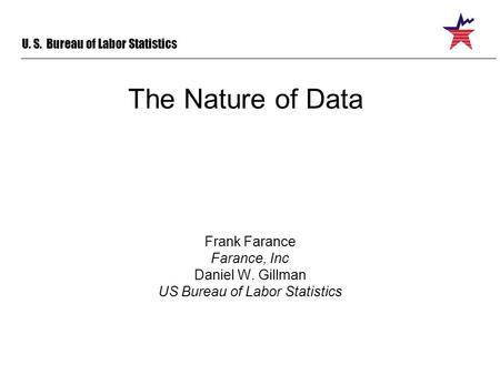 Tracking datums dan gillman definitions datum designation of a value value concept with a - Us bureau labor statistics ...