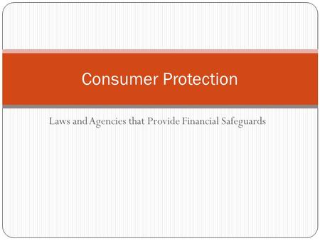 impact of consumer credit laws The national credit act is aimed at regulating the consumer credit  abuse by credit providers the laws  the consumer credit act will impact the.