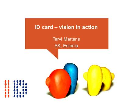 ID card – vision in action Tarvi Martens SK, Estonia.