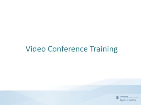 Video Conference Training. Agenda Where to get help? Selecting Presentation or Conference mode Crestron Rooms - Turning on the Room Crestron Rooms - Adjusting.
