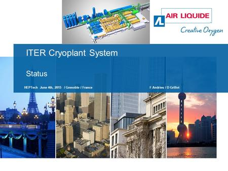 ITER Cryoplant System Status
