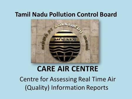 Tamil Nadu Pollution Control Board