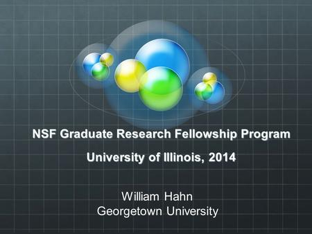 nsf graduate research fellowship program essays External fellowships national science foundation national science foundation graduate research fellows the following scholarship and fellowship programs are.