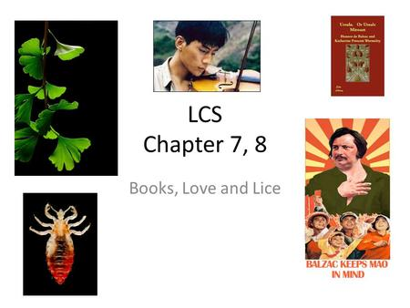 LCS Chapter 7, 8 Books, Love and Lice. Vocab words belligerent redolent profound limbo blather somnanbulate minute incapacitated precarious predicament.