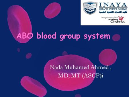 Nada Mohamed Ahmed , MD, MT (ASCP)i