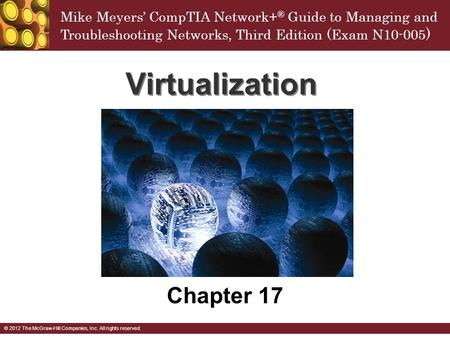 Virtualization Chapter 17.