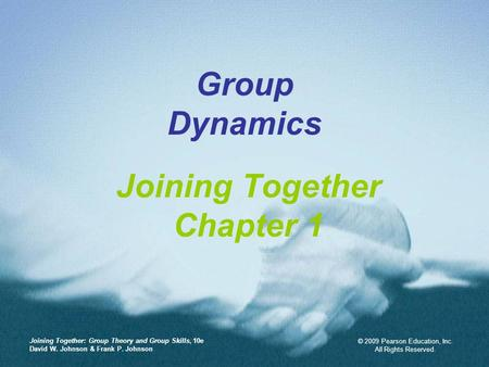 Joining Together Chapter 1