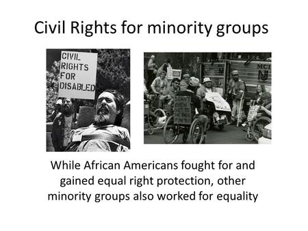 african americans civil rights and equality how much and why did president truman help to promote racial equality  equality for african-americans  in black civil rights and he played a.