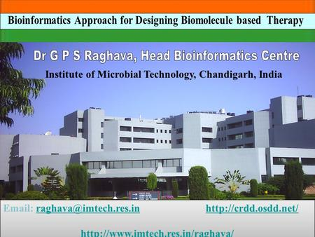 Institute of Microbial Technology, Chandigarh, India