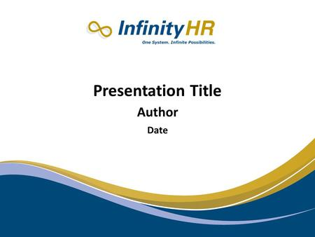 RELAX: Presentation Title Author Date. Private & Confidential System Overview Employee Portal Benefits Mgmt Time Off Tracking Time & Attendance Applicant.