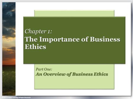 Importance of business ethics in modern world