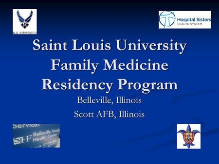 Saint Louis University Family Medicine Residency Program