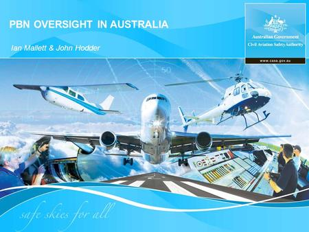 PBN OVERSIGHT IN AUSTRALIA