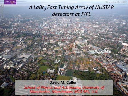 A LaBr3 Fast Timing Array of NUSTAR detectors at JYFL