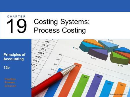 Needles Powers Crosson Principles of Accounting 12e Costing Systems: Process Costing 19 C H A P T E R © human/iStockphoto.