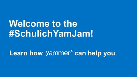 Innovation just got a whole lot easier. Yammer makes it easier than ever to connect knowledge, effort, and know-how, all in one place. Connect with.