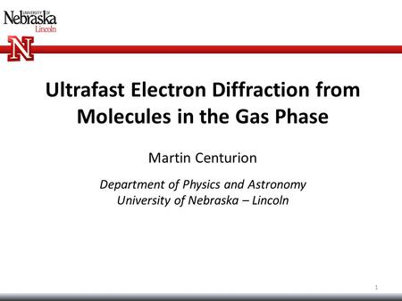 Ultrafast Electron Diffraction from Molecules in the Gas Phase