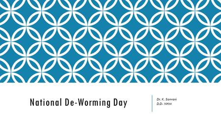 National De-Worming Day